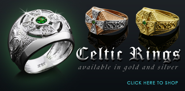 celtic rings, irish celtic rings